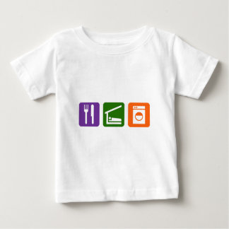 Eat Sleep Laundry Baby T-Shirt