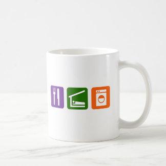 Eat Sleep Laundry Coffee Mug