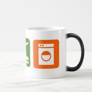Eat Sleep Laundry Magic Mug