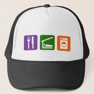 Eat Sleep Laundry Trucker Hat