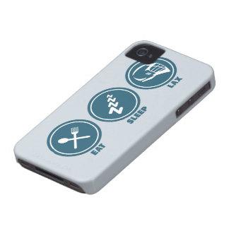 Eat Sleep Lax iPhone 4 Case