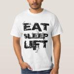 EAT SLEEP LIFT Value Tee