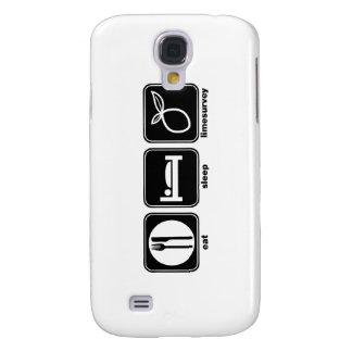 Eat Sleep LimeSurvey Samsung Galaxy S4 Cases