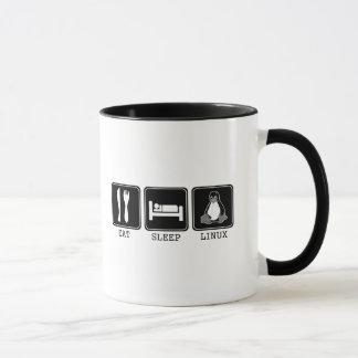 Eat. Sleep. Linux. Mug