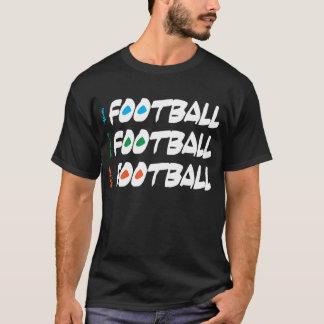 Eat Sleep Live Football Dark T-Shirt