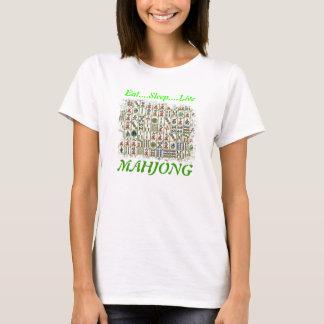 eat,sleep,live,MAHJONG T-Shirt