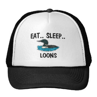 Eat Sleep LOONS Trucker Hat