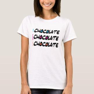 Eat Sleep Love Chocolate T Shirt
