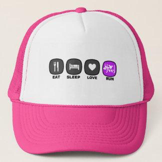 Eat. Sleep. Love. Run. Trucker Hat