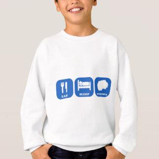 Eat Sleep Macedonia Sweatshirt