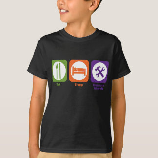 Eat Sleep Maintain Aircraft T-Shirt