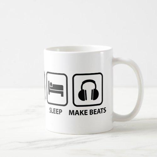Eat Sleep Make Beats Coffee Mug