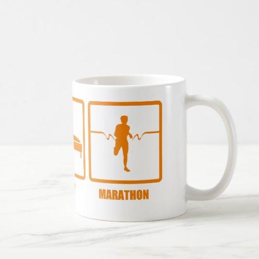 Eat Sleep Marathon Mug