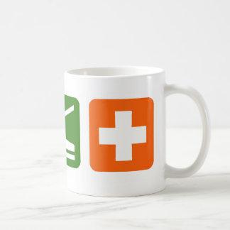 Eat Sleep Medical Coffee Mug
