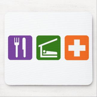 Eat Sleep Medical Mouse Pad