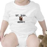 Eat Sleep MEERKATS Shirt