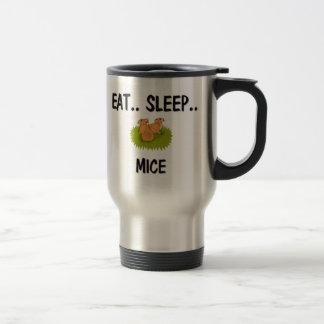 Eat Sleep MICE 15 Oz Stainless Steel Travel Mug