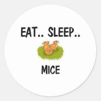 Eat Sleep MICE Sticker