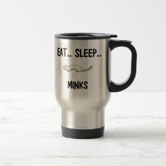 Eat Sleep MINKS Travel Mug