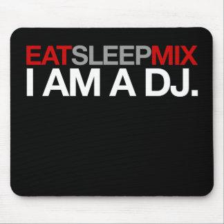 Eat Sleep Mix Mouse Pad