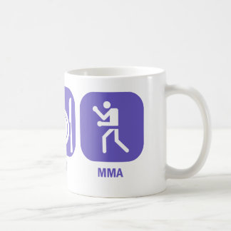 Eat Sleep MMA Mugs