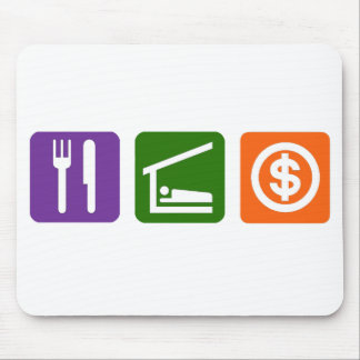 Eat Sleep Money Mouse Pad