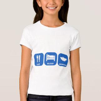 Eat Sleep Mongolia T-Shirt