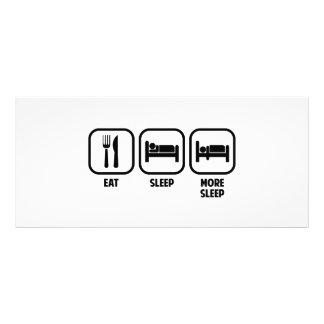 EAT, SLEEP, MORE SLEEP RACK CARD