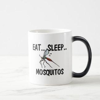 Eat Sleep MOSQUITOS 11 Oz Magic Heat Color-Changing Coffee Mug