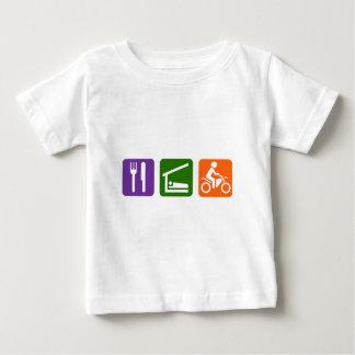 Eat Sleep Motocross Baby T-Shirt
