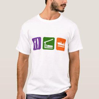 Eat Sleep Motor Boating T-Shirt