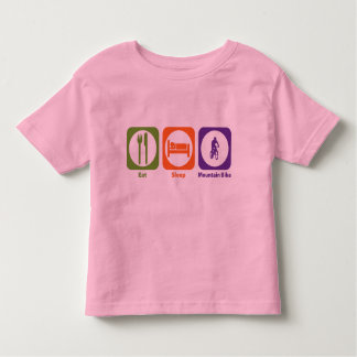 Eat Sleep Mountain Bike Tee Shirt