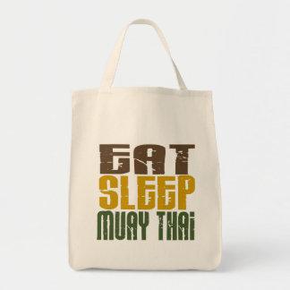 Eat Sleep Muay Thai 1 Canvas Bag