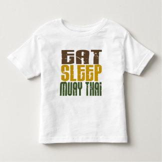 Eat Sleep Muay Thai 1 Toddler T-shirt
