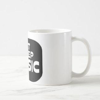 Eat Sleep Music Classic White Coffee Mug