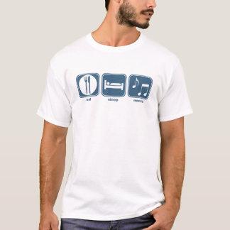 eat sleep music T-Shirt