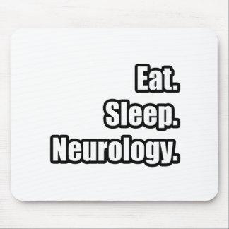 Eat. Sleep. Neurology. Mouse Pad