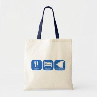 Eat Sleep Nicaragua Tote Bag