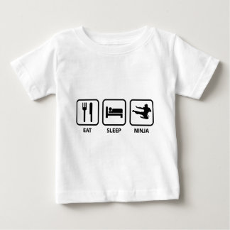 Eat Sleep Ninja Baby T-Shirt