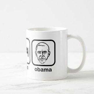 Eat Sleep Obama Coffee Mugs
