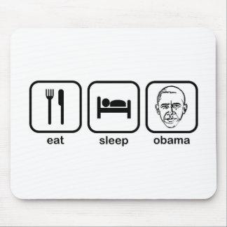 Eat Sleep Obama Mouse Pad