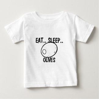 Eat Sleep OLIVES Baby T-Shirt