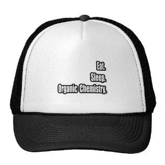 Eat. Sleep. Organic Chemistry. Trucker Hats