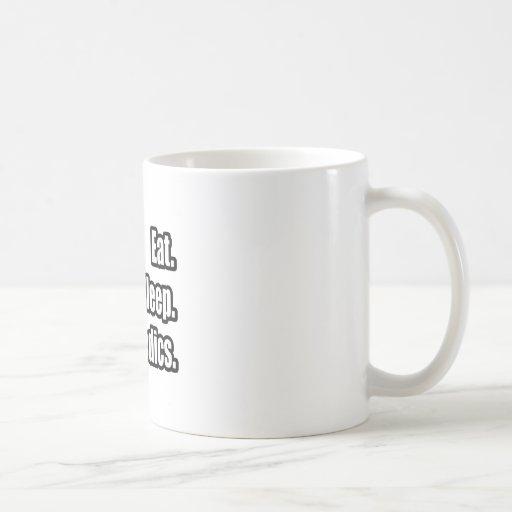 Eat. Sleep. Orthopedics. Classic White Coffee Mug