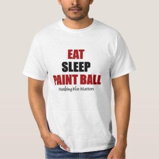 Eat sleep paint ball T-Shirt
