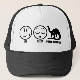 Eat Sleep Paleontology Trucker Hat