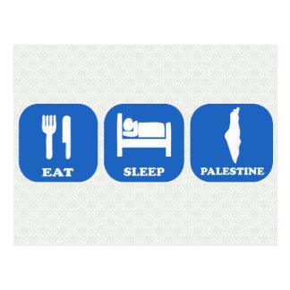 Eat Sleep Palestine Post Cards