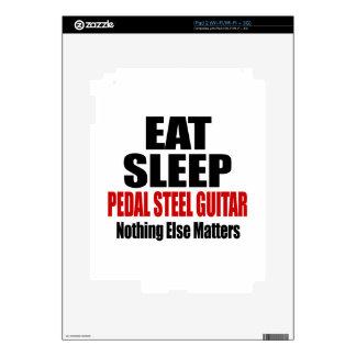 EAT SLEEP PEDAL STEEL GUITAR iPad 2 DECAL
