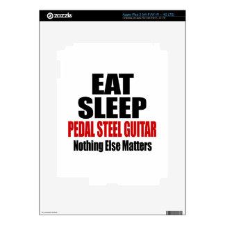 EAT SLEEP PEDAL STEEL GUITAR iPad 3 DECALS