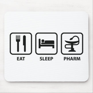 Eat Sleep Pharm Mouse Pad